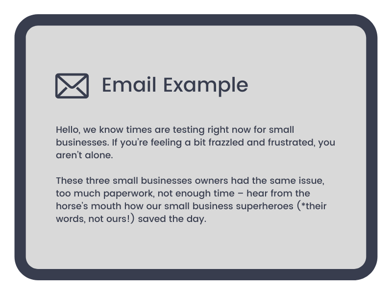 INB Marketing Email Examples 2