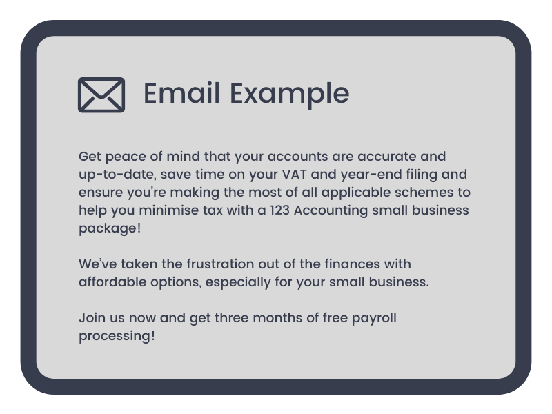 INB Marketing Email Examples 3