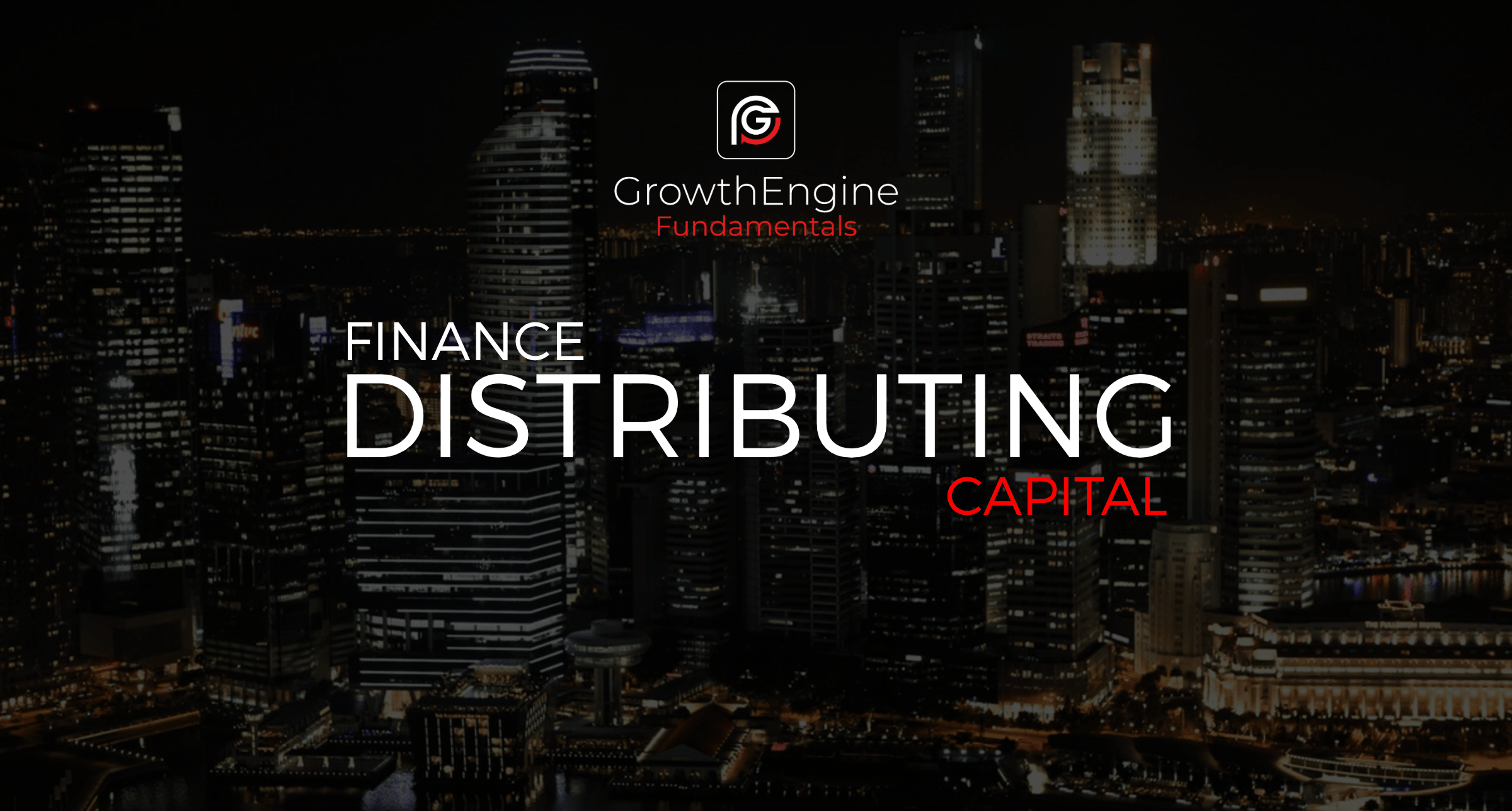 GE - Distributing Capital - BLOG